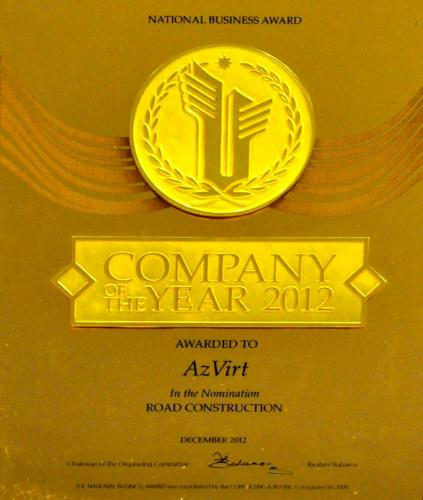 Company of The Year 2012