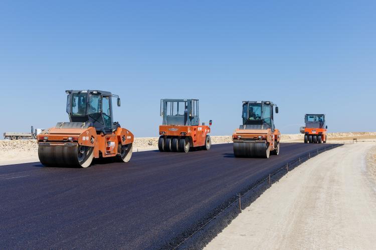 M-1 Bakı - Quba - Rusiya Federasiyası ilə dövlət sərhəddi avtomobil yolunun 45-ci kilometrliyindən başlayan yeni avtomobil yolunun km 0+000 - km 28+610 hissəsinin tikintisi