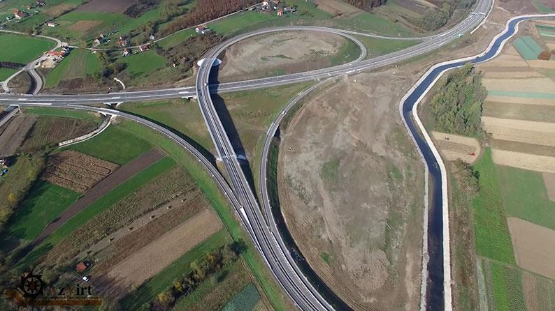 E 763 magistral yolunun tikintisi: Belqrad – Juzni Jadran, Serbiya Respublikası
