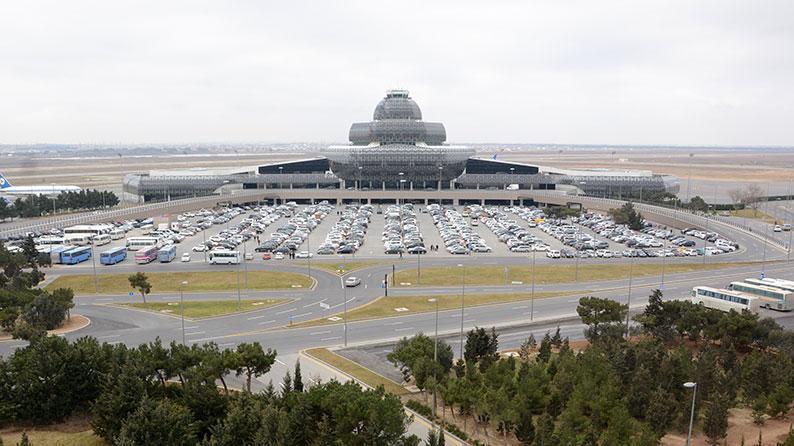 Heydər Əliyev Beynəlxalq Aeroportunda Kompleks yenidənqurma işləri
