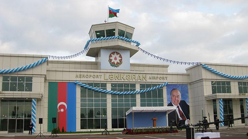 Lənkəran Beynəlxalq Hava Limanının tikintisi
