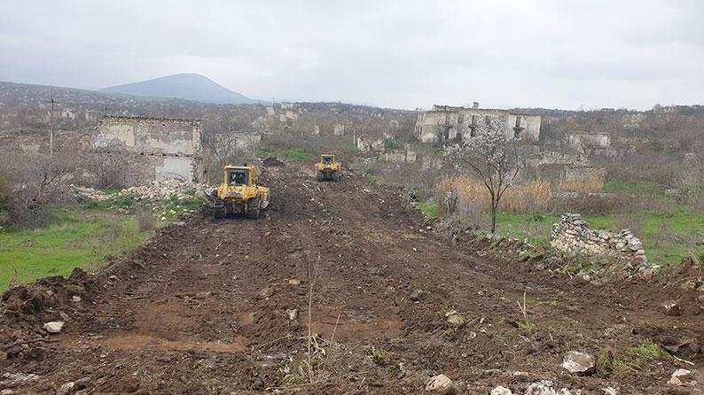 Construction of the Ahmadbayli - Fizuli - Shusha highway (km 34+000÷km 51+000)