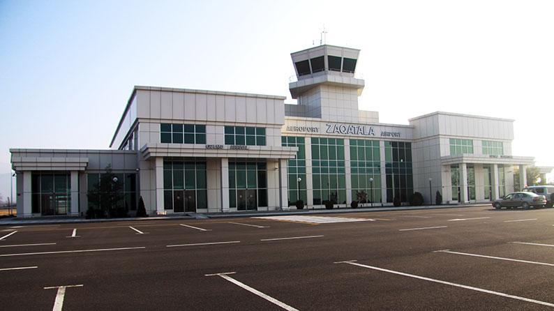 Zaqatala Hava limanının tikintisi
