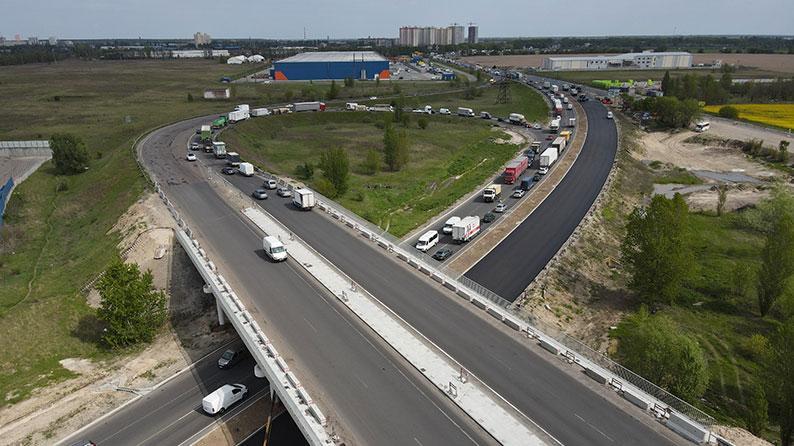 M01 Road Kyiv – Chernigiv – Novi Yarylovychi, Ukrayna